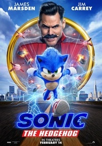 Poster Sonic the Hedgehog DUB